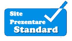 pret creare site standard